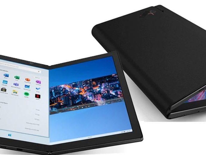 Lenovo Thinkpad X1 Fold : Le premier PC Windows avec un écran pliable - Laboconso.com