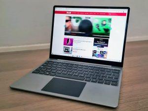 Avis sur Microsoft Surface Laptop Go - Laboconso.com
