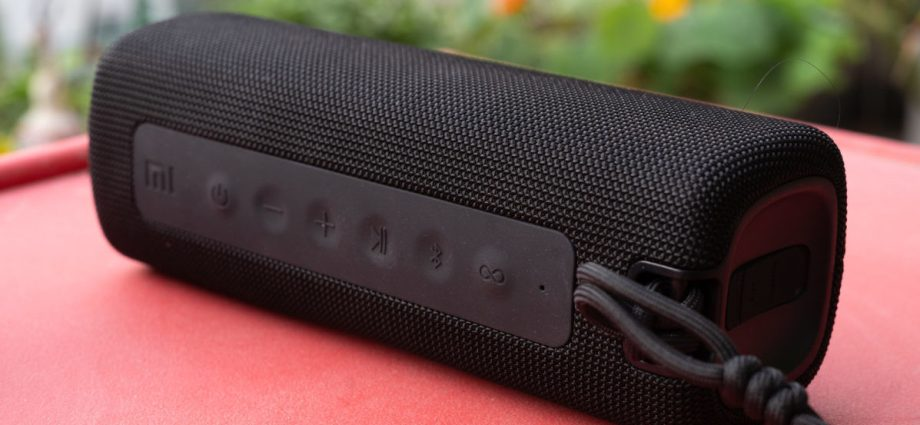 Examen du haut-parleur Bluetooth portable Xiaomi Mi - Laboconso.com