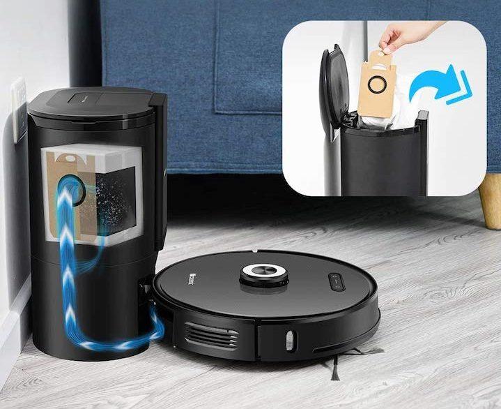 Robot Aspirateur Proscenic M8 PRO - Laboconso.com