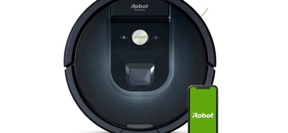 Le robot aspirateur haut de gamme iRobot Roomba 981 à moins de 400 euros ! - Laboconso.com
